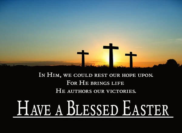 Happy Easter Blessing Images