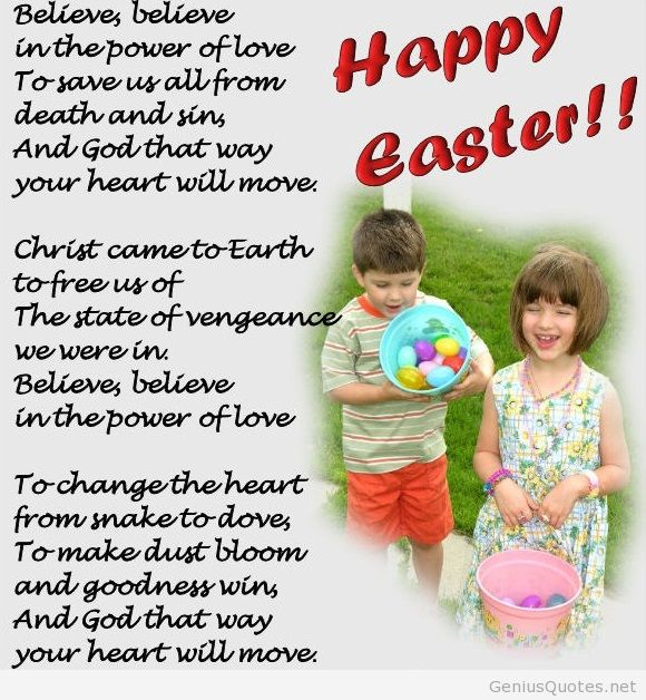 Easter Speeches For Children