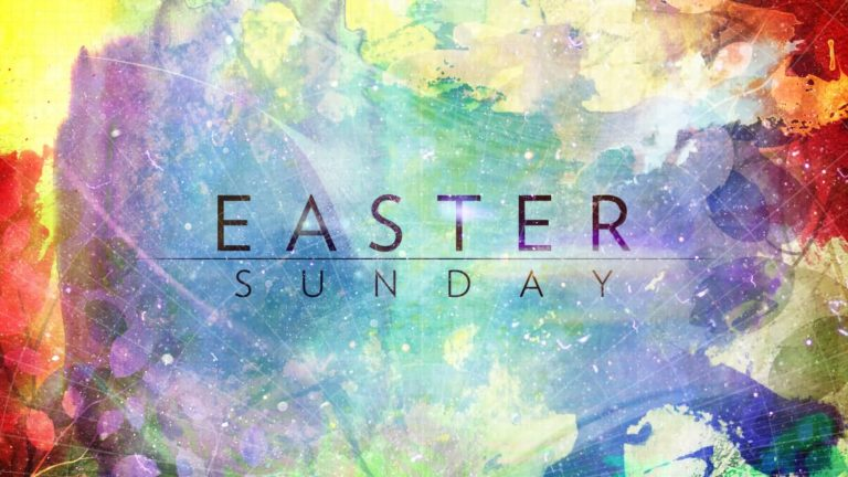 Easter Sunday Background